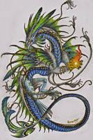 Cyborg Dragon by Sunima