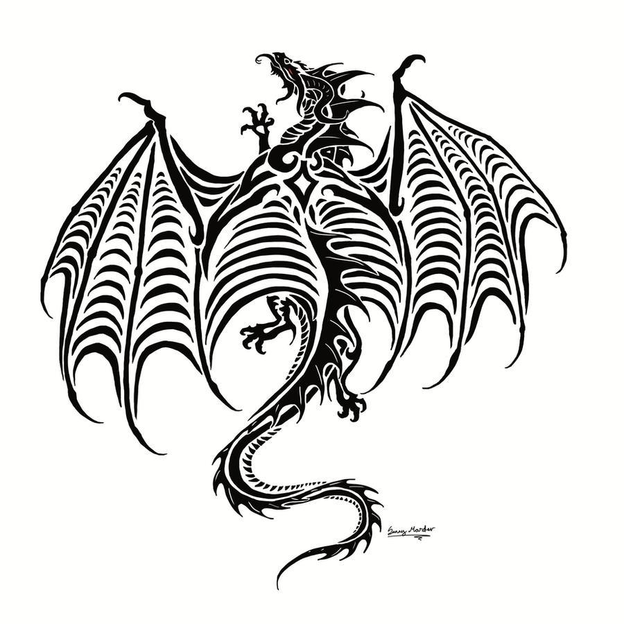Welsh dragon tattoo designs - Dragon Tattoo Commish By Sunima Dragon Tattoo Commish By Sunima