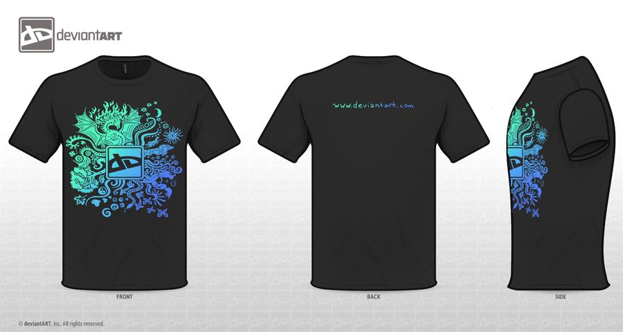 T-shirt blue by Sunima