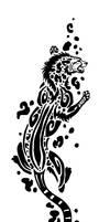 King Cheetah Tribal by Sunima