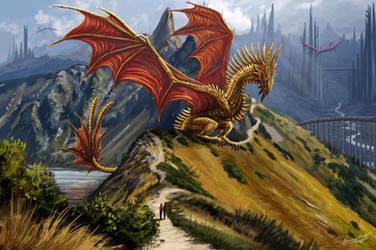 Dragon Valley by Sunima