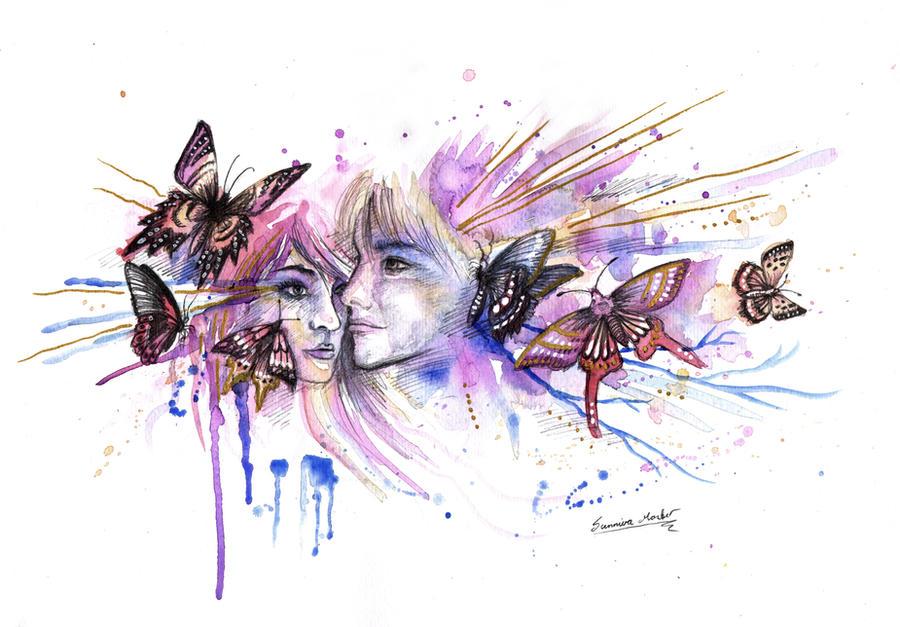 Butterflies by Sunima