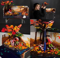 Autumn in a shoebox by Sunima