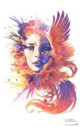 Fiery soul by Sunima