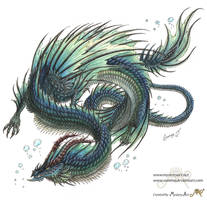 water dragon by Sunima