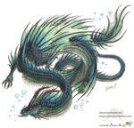 water dragon by Sunima