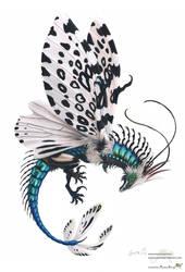 Bottle leopard Moth Dragon