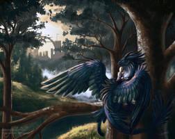 Dragonrider by Sunima