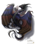 Dragon tattoo commission for AlixHiddleston