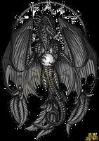 Dragon and orb design by Sunima