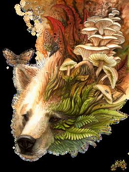 Autumn spirit bear
