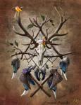 Native American dreamcatcher v1