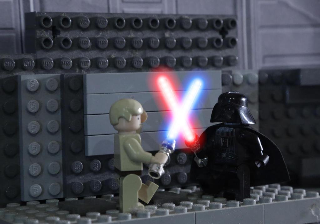Luke Skywalker vs. Darth Vader shot #2 by AnthonyAgnelli166 on ...