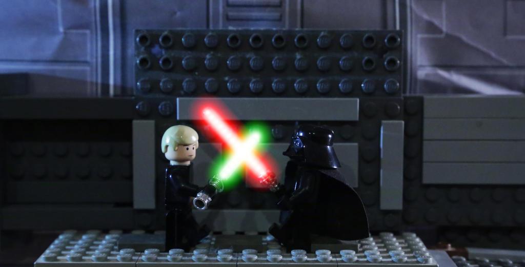 Luke Skywalker vs. Darth Vader ROTJ by AnthonyAgnelli166 on DeviantArt