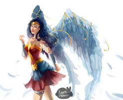 Hey there, angel by Louna-Ashasou