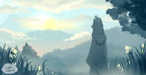 I used to dream I was a cloud by Louna-Ashasou