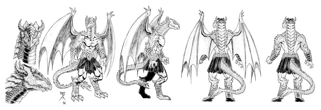 THE SLITHER - modelsheet by EuROPA777