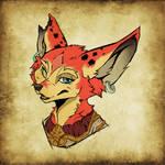 Kheena - World of Warcraft Portrait (Practise)