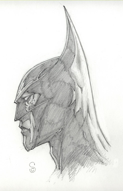 Batman Study by ScottJc