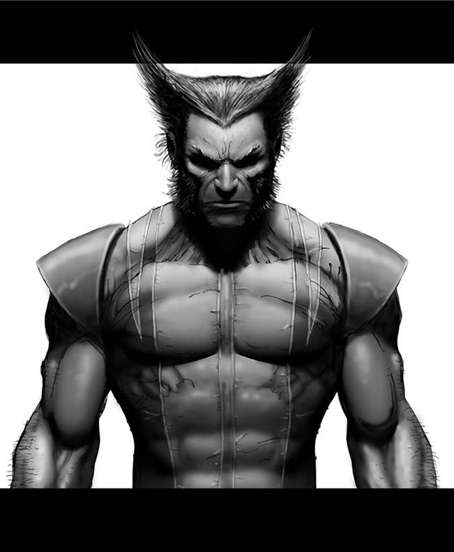 Sketchbook Wolverine by ScottJc