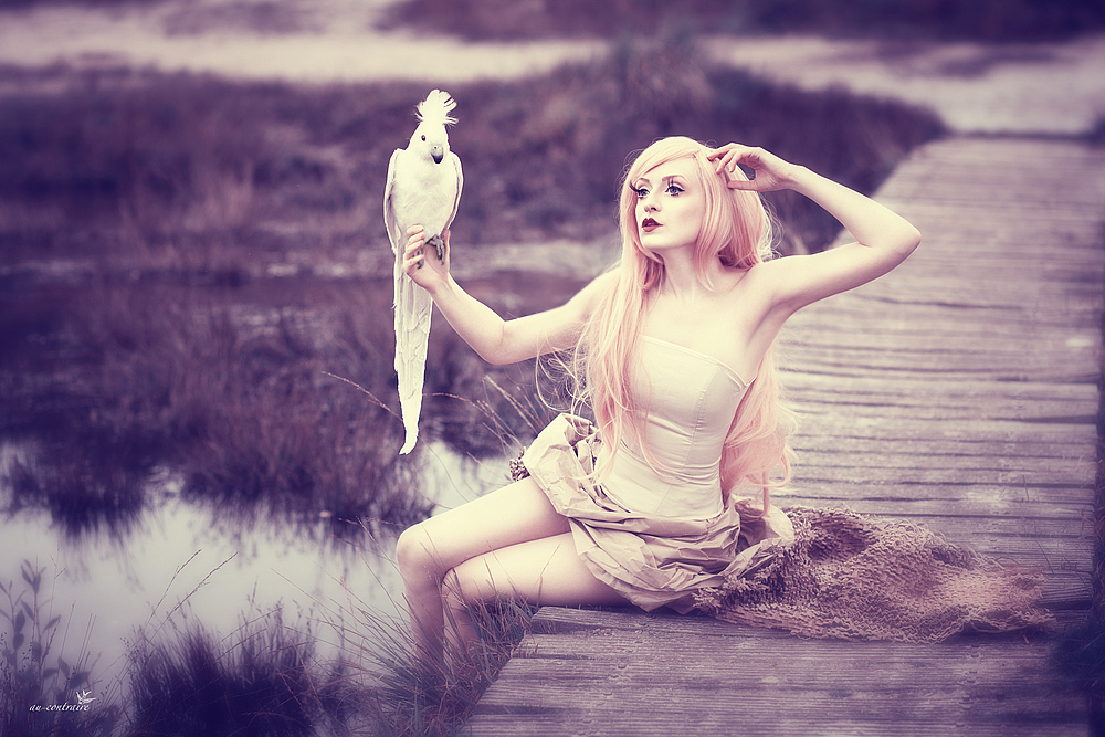 Parrot-mistress by DaeJoon