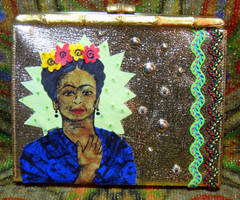 In the Style of Frida Kahlo by Destiny-Carter