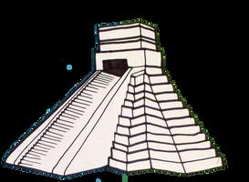 Central America: Step Pyramid by Destiny-Carter