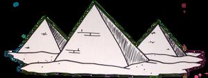 Egypt: Great Pyramids by Destiny-Carter