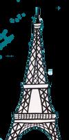 France: Eiffel Tower by Destiny-Carter