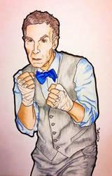 Boxing Bill Nye by Destiny-Carter