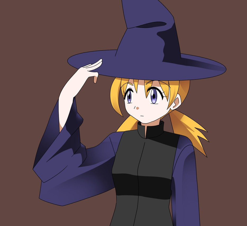 Witch Girl by CrystalClair