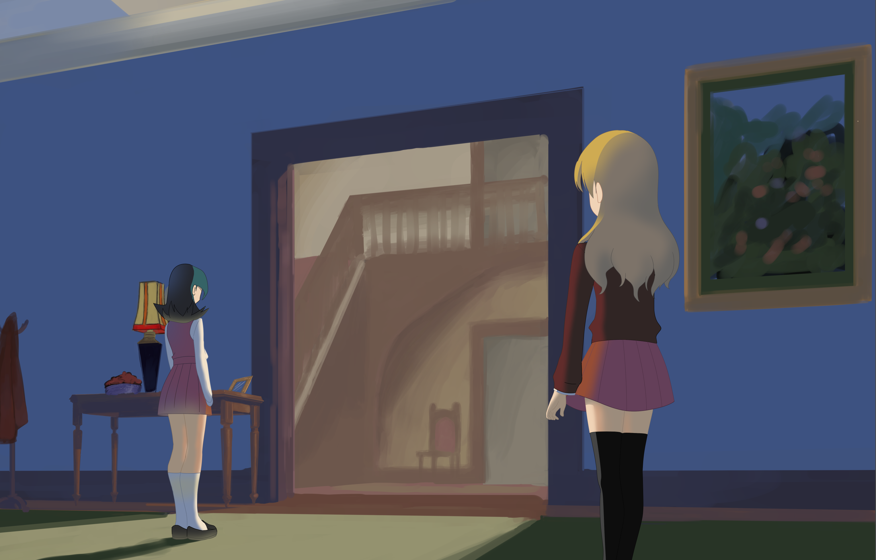 Foyer Wallpaper Anime : Foyer by crystalclair on deviantart