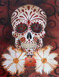 Sugar Skull Stencil-Print1