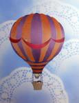 Hot Air Balloon-Stencil Print1 by darcydoll