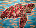 Sea Turtle by darcydoll