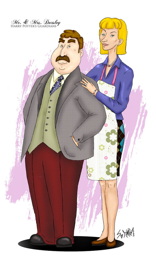 Mr. and Mrs. Dursley, of number four Privet Drive, by J K Rowling @ Like Success