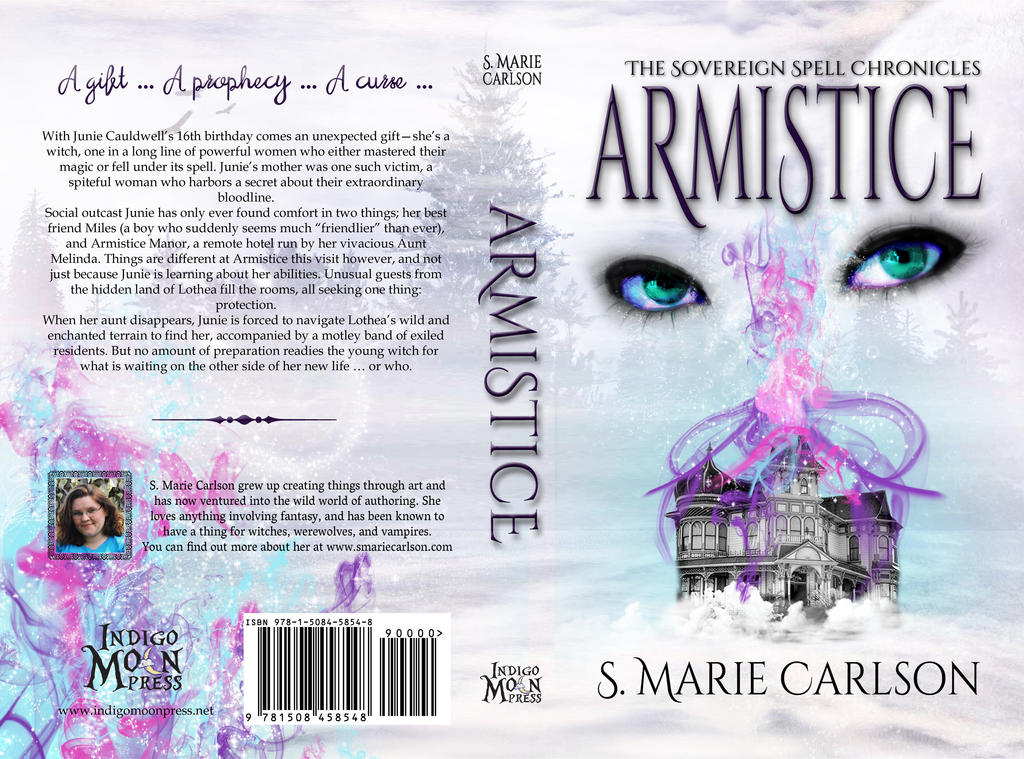 Armistice Book Cover by ArmisticeArt