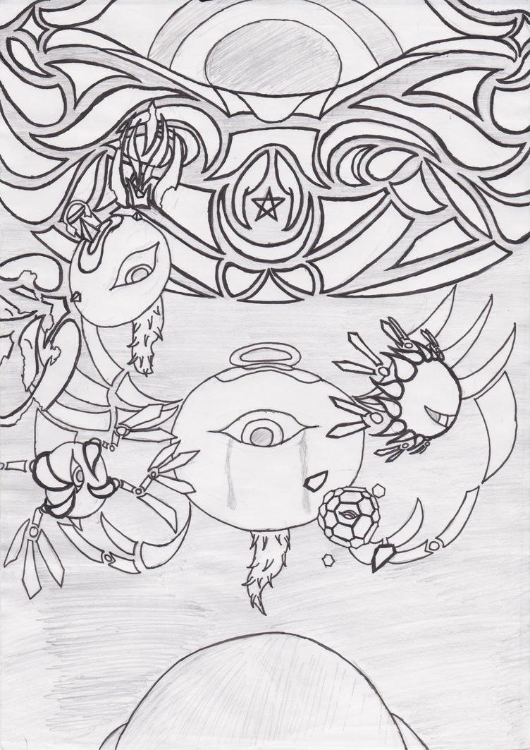 Kirby: Dark Zero by SonicShadow71019