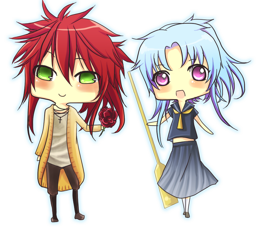 Botan Kurama Kuwabara Yusuke: Commision : Kurama And Botan By Bianca0908 On DeviantArt