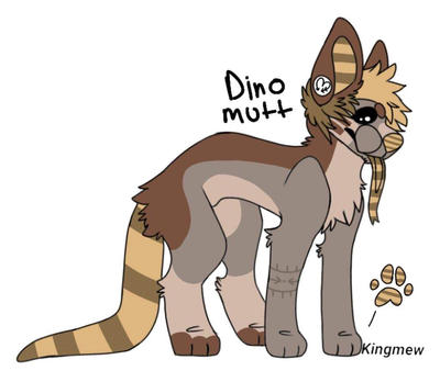 Dino Mutt emo doggo adopt auction~ 2/2 by kenx666