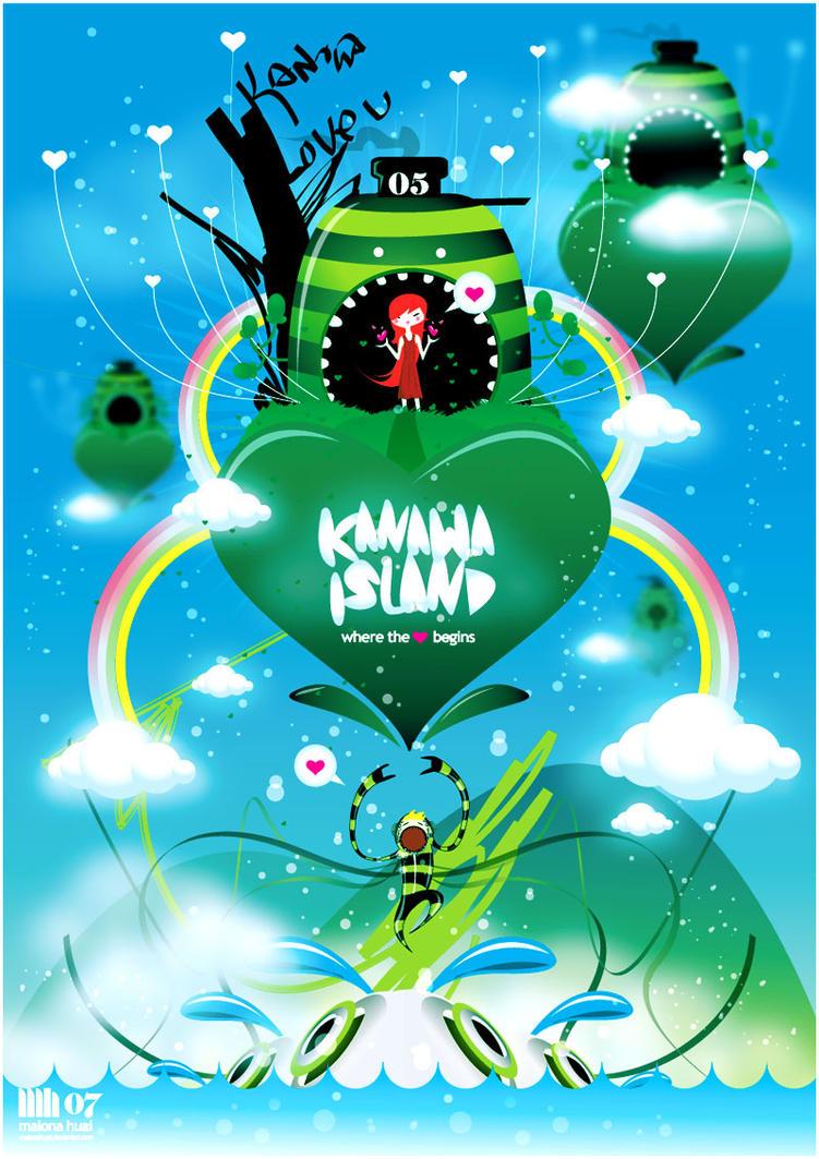 KANAWA ISLAND by malonahuai