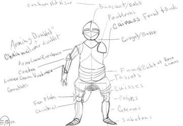 Armorstudy by dcofjapan