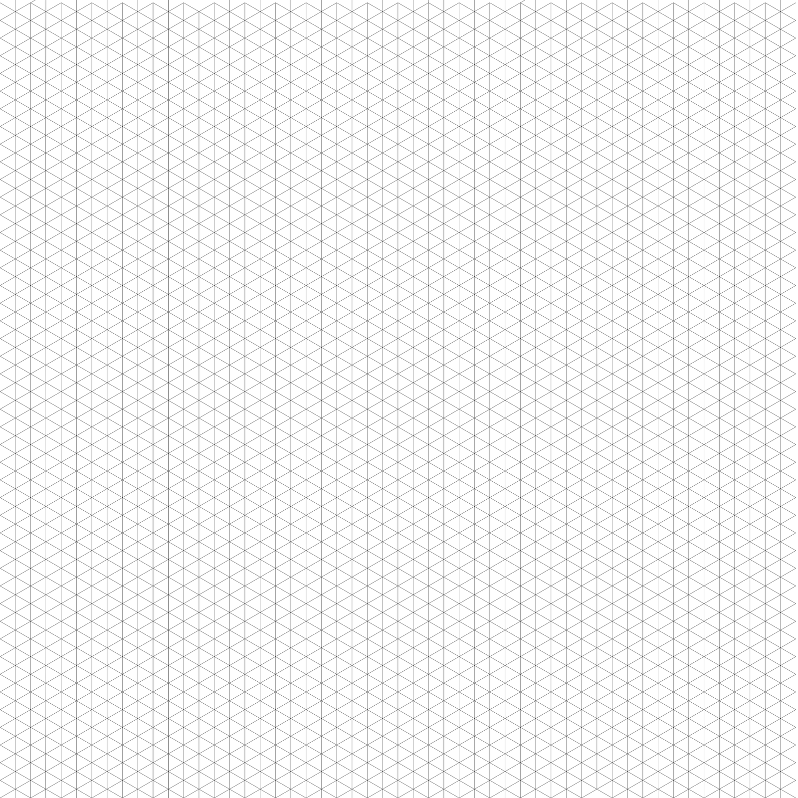 4,000x4,000 isometric grid by dcofjapan