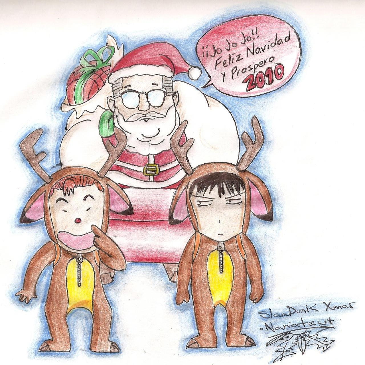 Slam Dunk Navidad By Nanatzu On DeviantArt