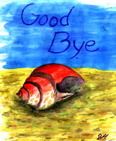Good Bye My Crab by grammabeth