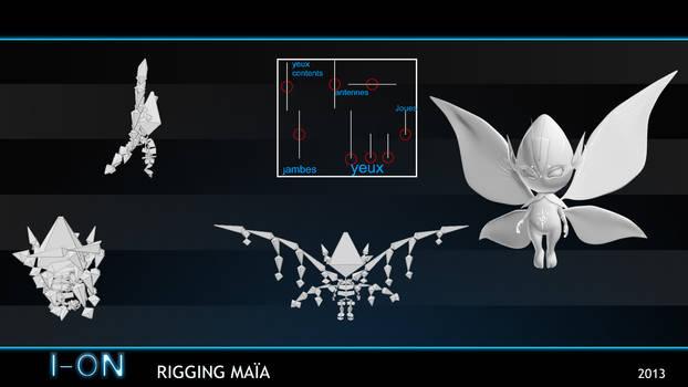 Rigging Maia