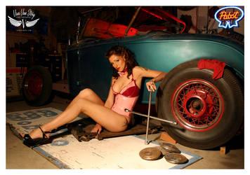 Kellie at the shop by vivavanstory