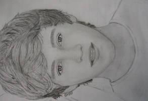 Niall Horan Drawing by 1ddrawings