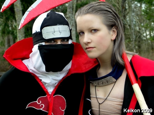 Kakuzu and Hidan Cosplay by BlackRockTaffy