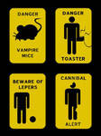 beware of lepers